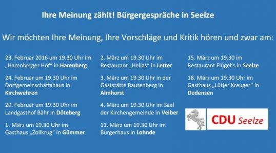 CDU setzt auf Bürgerbeteiligung!