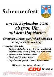 Scheunenfest 2016
